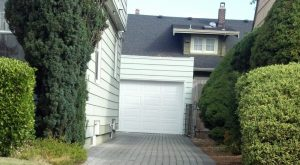 Stormwater facility under pervious paver driveway